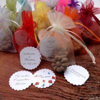 Personalisierbare schöne Gastgeschenke Seedbombs Samen Samenbomben flowerpower Taufe hochzeit Kommunion konfirmation
