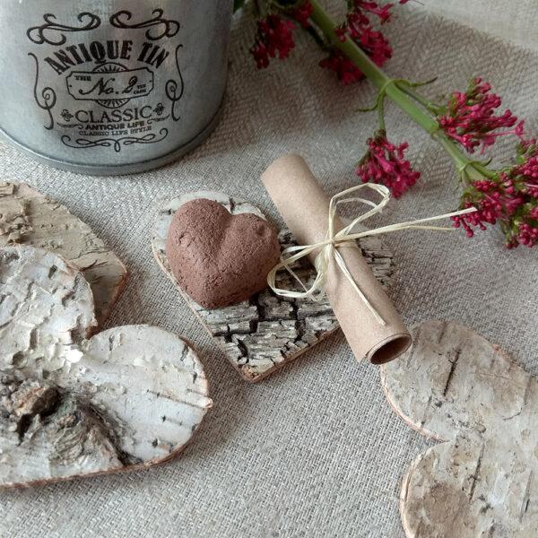 Gastgeschenke Hochzeit Vintage personalisiert seedbombs taufe giveaways idee kinder birkenherzen